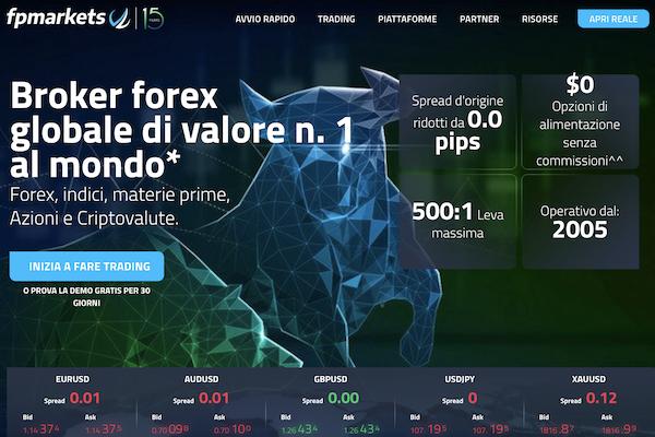 FP Markets Sito Internet ufficiale