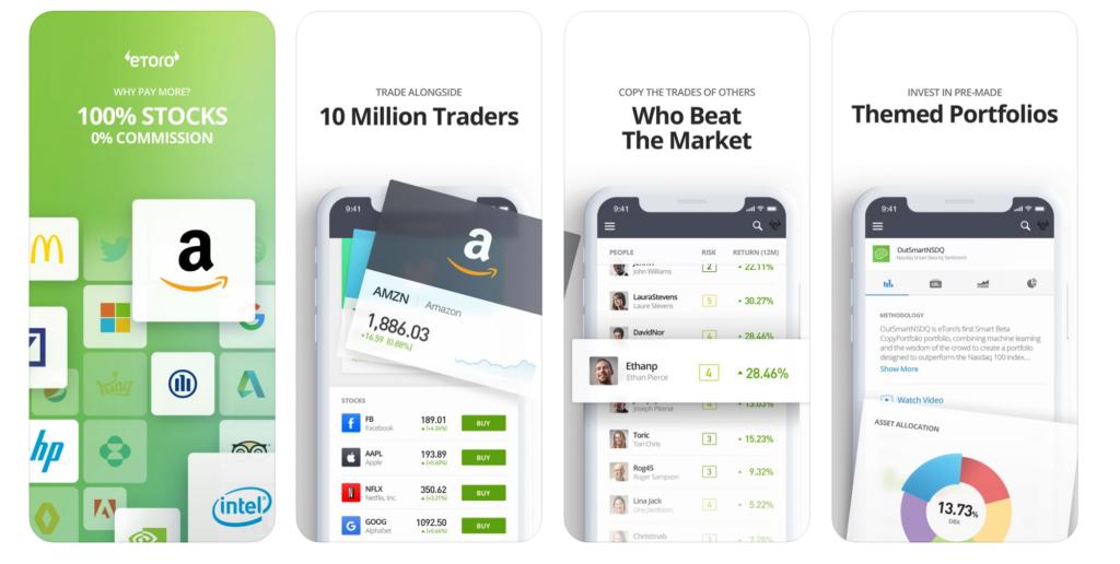 eToro App Trading