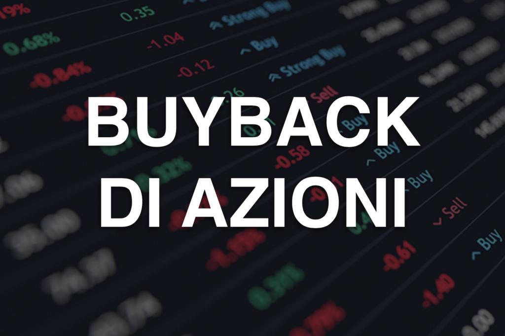 Buyback Azioni - la guida completa realizzata dal team di InvestimentiFinanziari.net