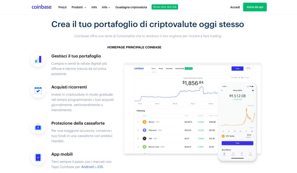 analisi e recensione completa di Coinbase