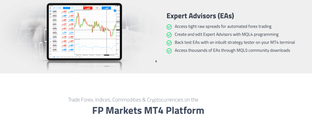 expert advisor di fp markets