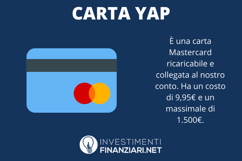 Mastercard YAP - infografica di InvestimentiFinanziari.net