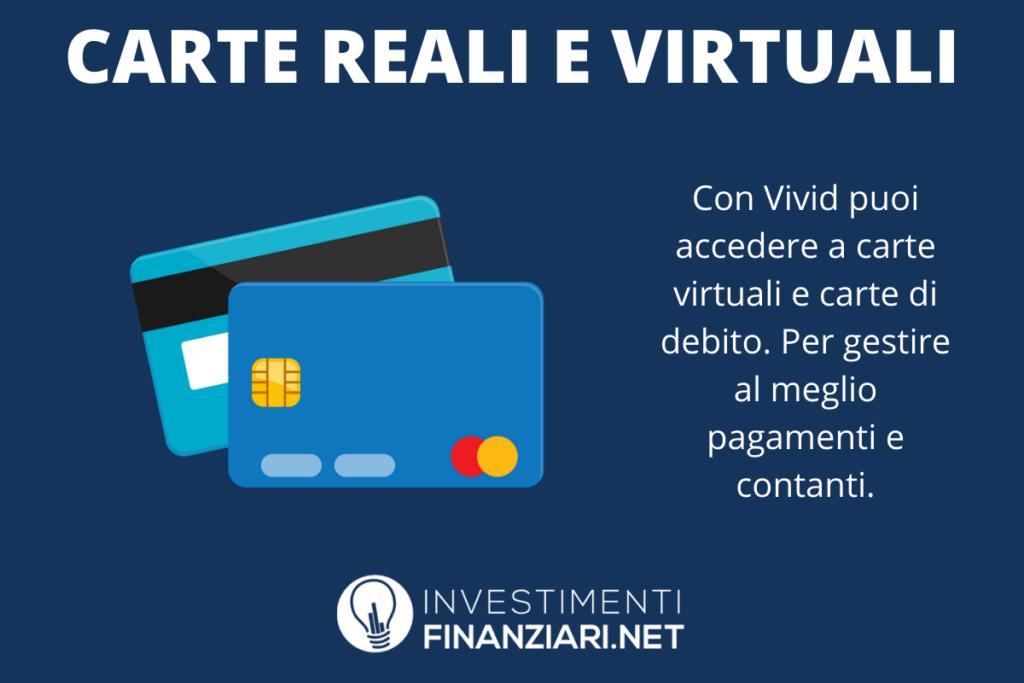 Vivid Money Carte - a cura di InvestimentiFinanziari.net