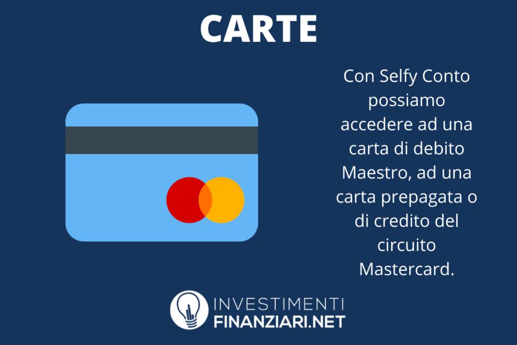 Carte Selfy - a cura di InvestimentiFinanziari.net