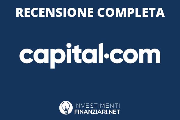 Capital.com - recensione completa del broker - di InvestimentiFinanziari.net