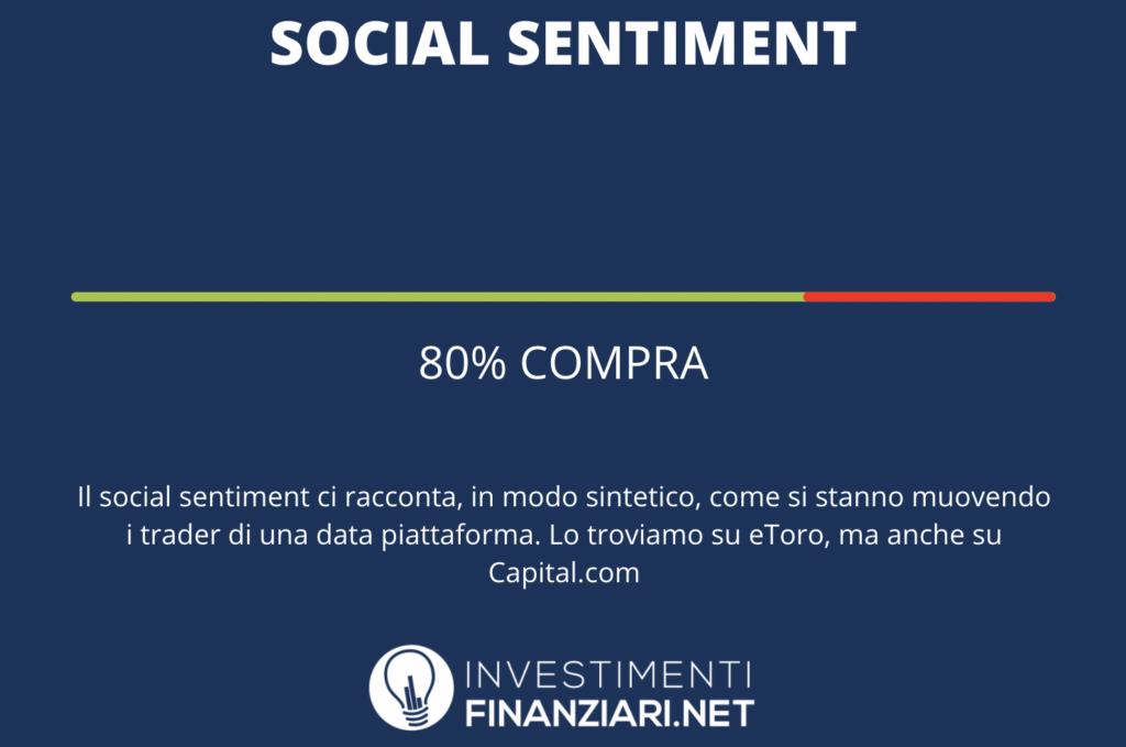 Social sentiment - a cura di InvestimentiFinanziari.net