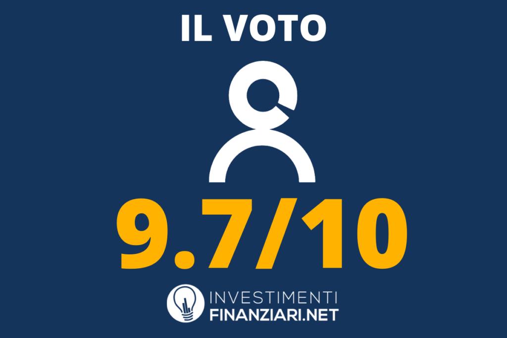 Selfy - voto finale - a cura di InvestimentiFinanziari.net