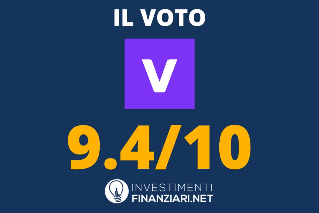 Vivid Money - il voto di InvestimentiFinanziari.net