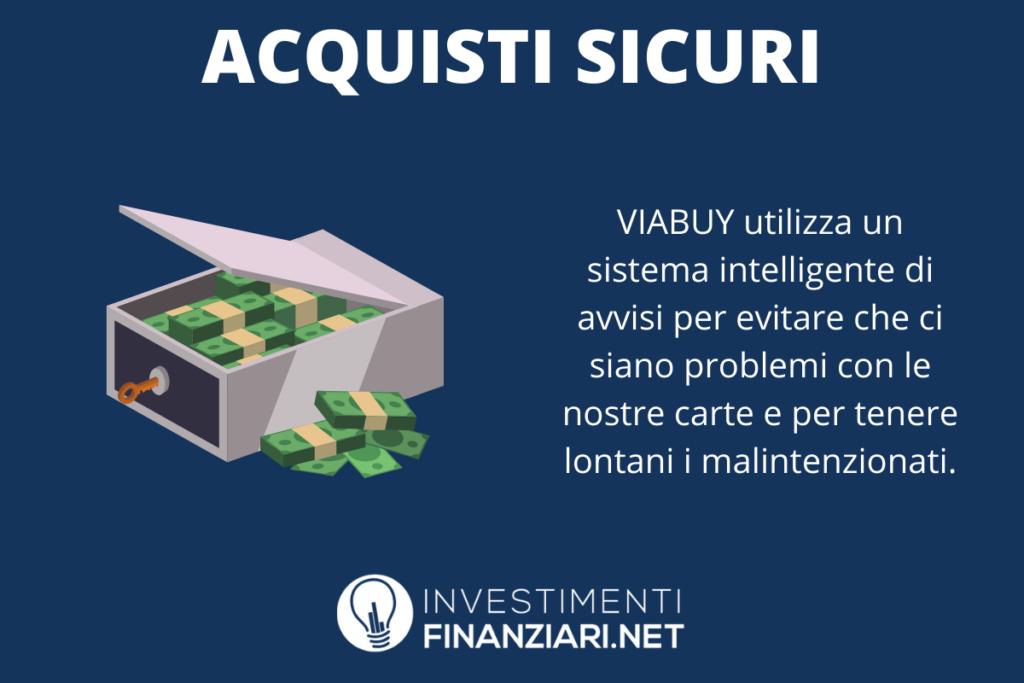 Acquisti sicuri ViaBuy - a cura di InvestimentiFinanziari.net
