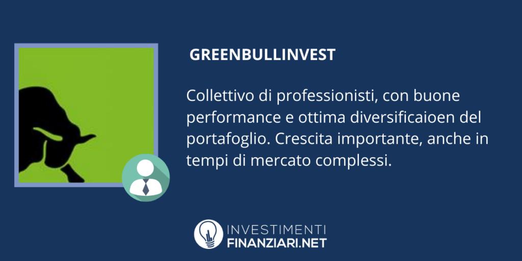 GreenBullInvest - la scheda di InvestimentiFinanziari.net