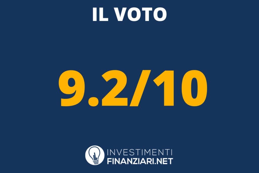 Voto finale di Oval - a cura di InvestimentiFinanziari.net