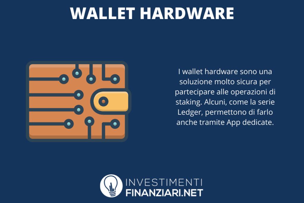 Wallet Hardware per lo staking - di InvestimentiFinanziari.net