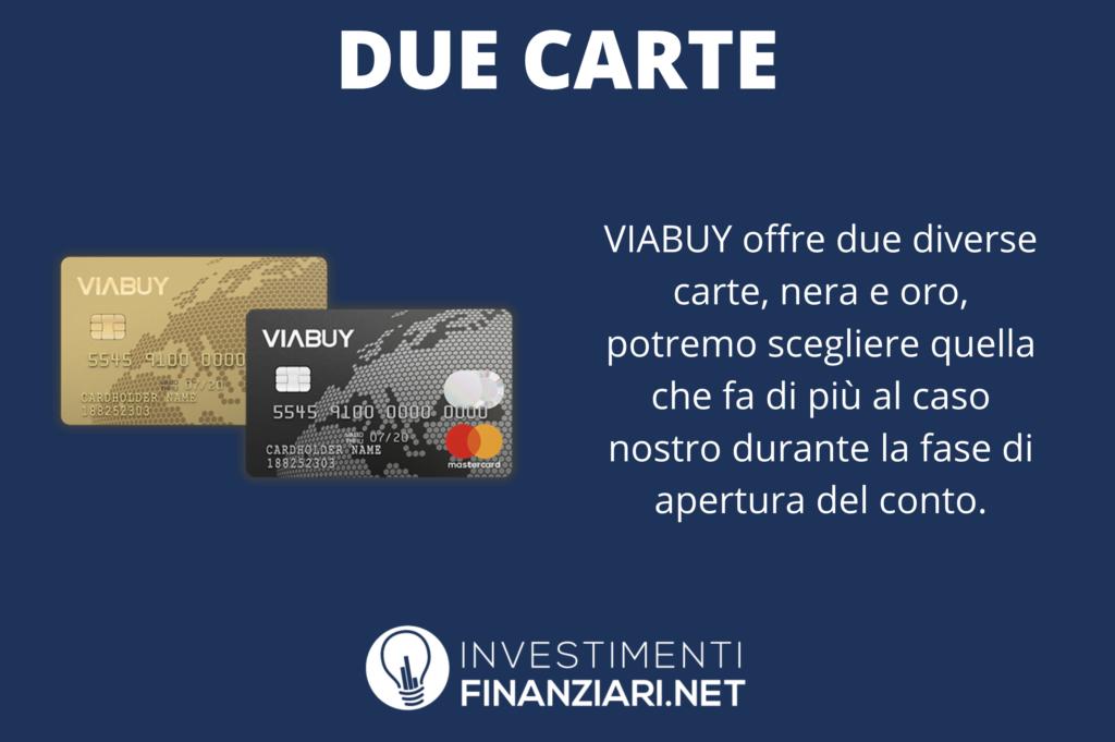 Carte di Viabuy - di InvestimentiFinanziari.net