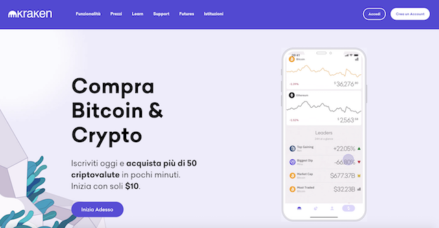 kraken conferme di deposito bitcoin