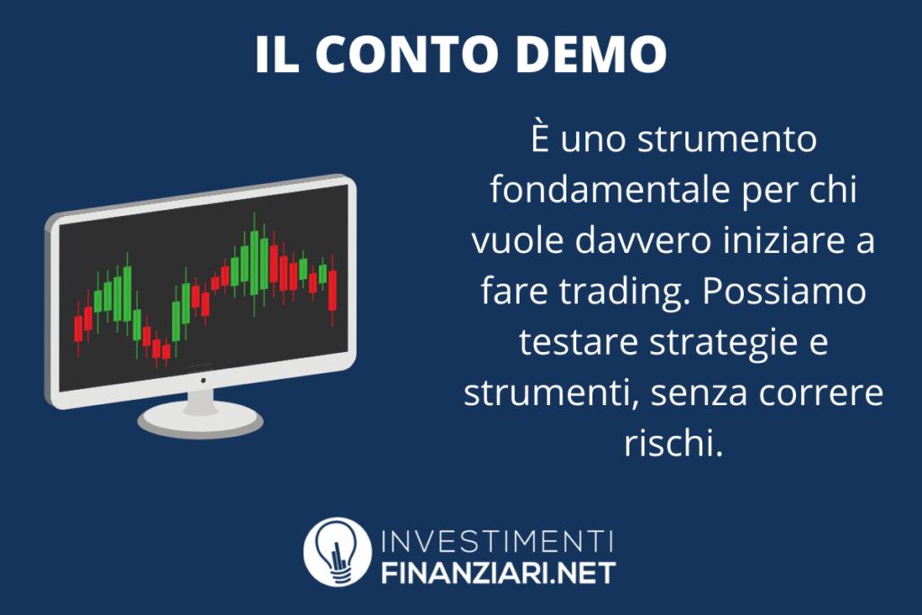 Perché il conto demo serve - di InvestimentiFinanziari.net