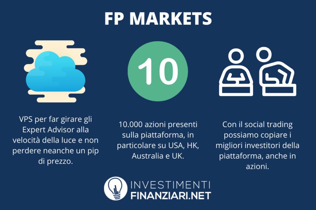 FP Markets - caratteristiche principali - a cura di InvestimentiFinanziari.net