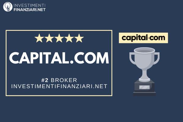 voto di capital.com da parte di investimentifinanziari.net e posizione nella classifica dei migliori broker