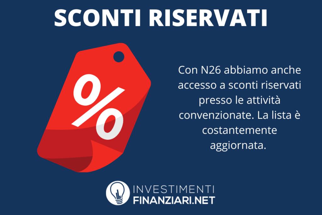 N26 - pacchetti sconti - a cura di InvestimentiFinanziari.net
