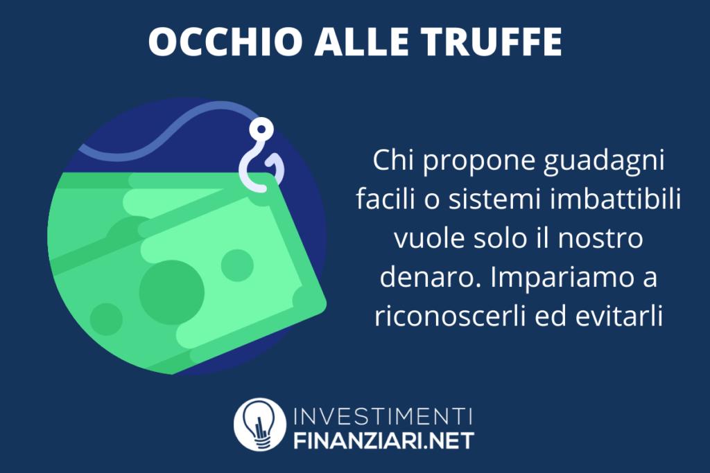 Truffe Trading online - come riconoscerle - a cura di InvestimentiFinanziari.net