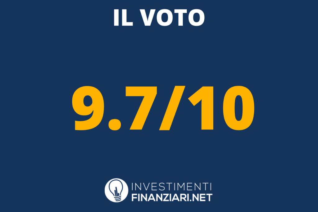 Voto finale per Revolut - di InvestimentiFinanziari.net