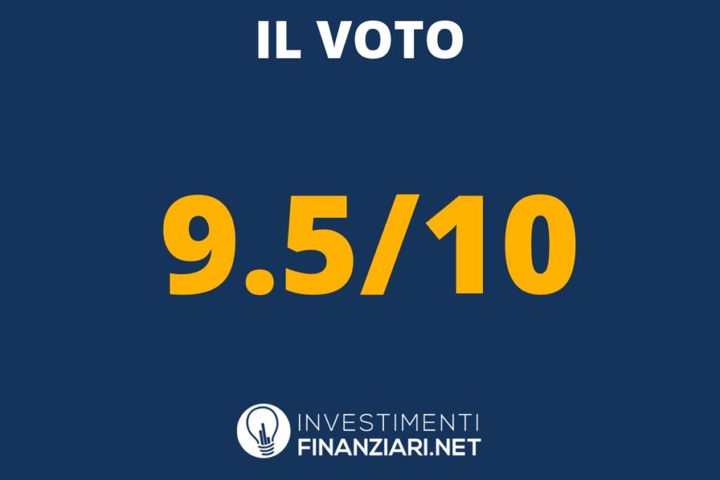 Voto finale Tinaba di InvestimentiFinanziari.net