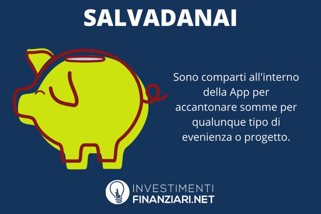 Risparmio di Revolut - i salvadanai - a cura di InvestimentiFinanziari.net