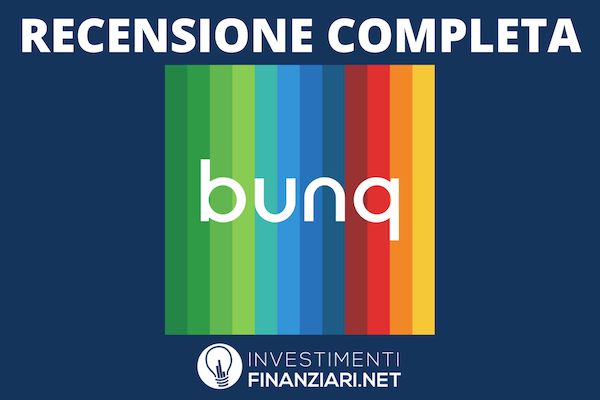 BUNQ - recensione completa di InvestimentiFinanziari.net