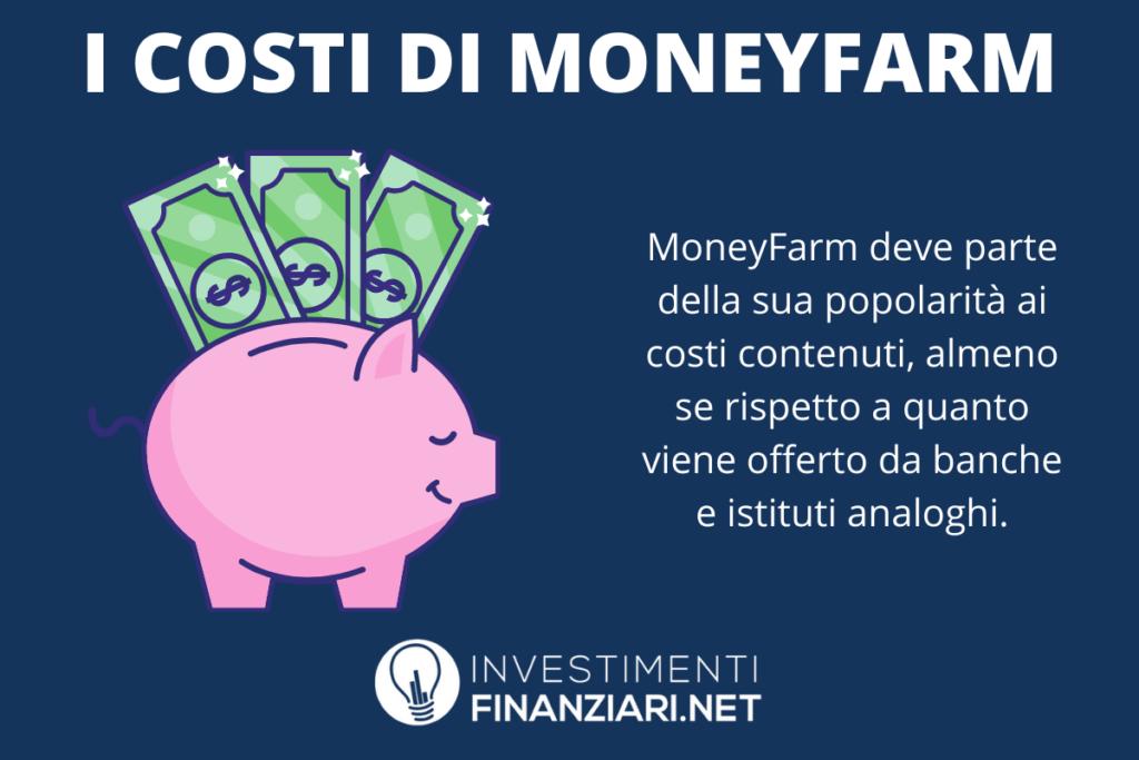 Moneyfarm costi - infografica di InvestimentiFinanziari.net