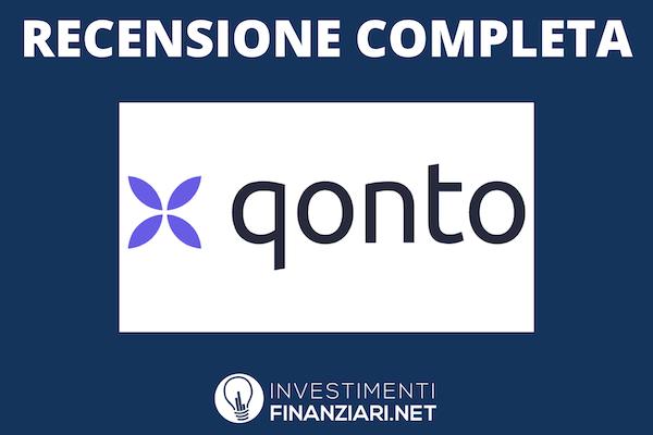Qonto - conto aziendale e per professionisti - recensione di InvestimentiFinanziari.net