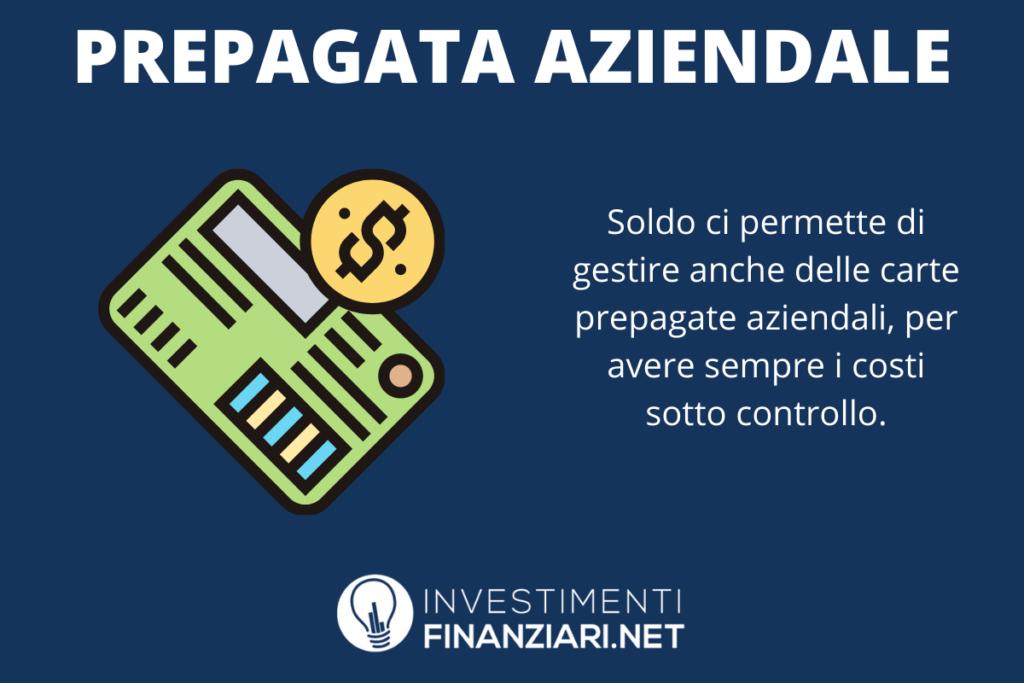 Carta prepagata Soldo - di InvestimentiFinanziari.net