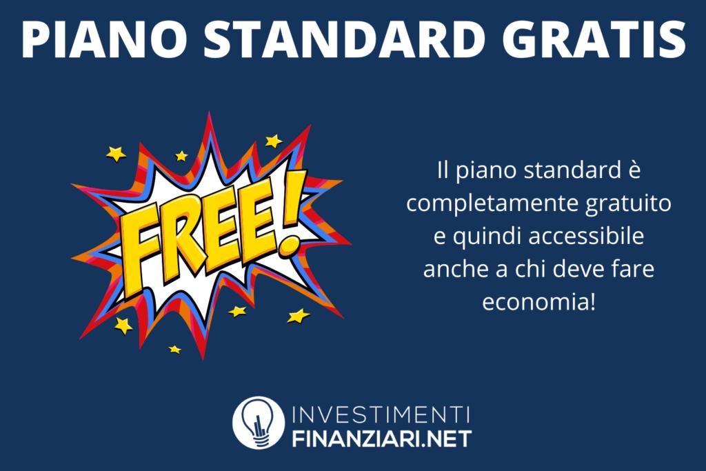 Wirex piano standard - di InvestimentiFinanziari.net
