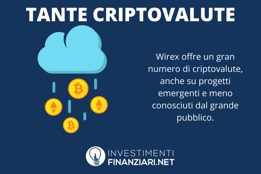Wirex criptovalute offerte - di InvestimentiFinanziari.net