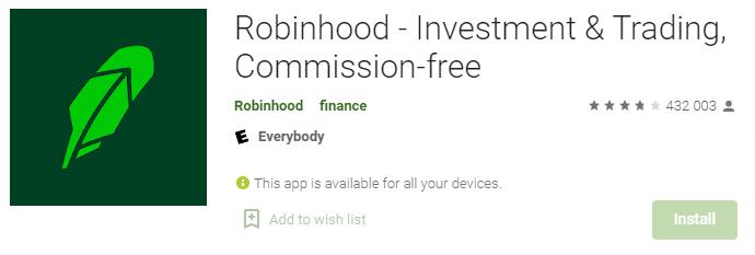 robinhood.com recensioni reali degli utenti Android sul Google Play Store